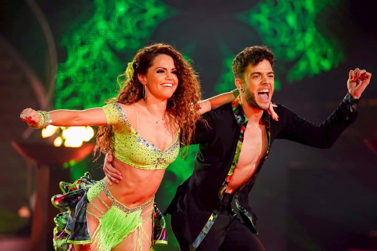 Christina Luft - Luca Hänni bei der Salsa im Finale Let's dance am 22.5.2020