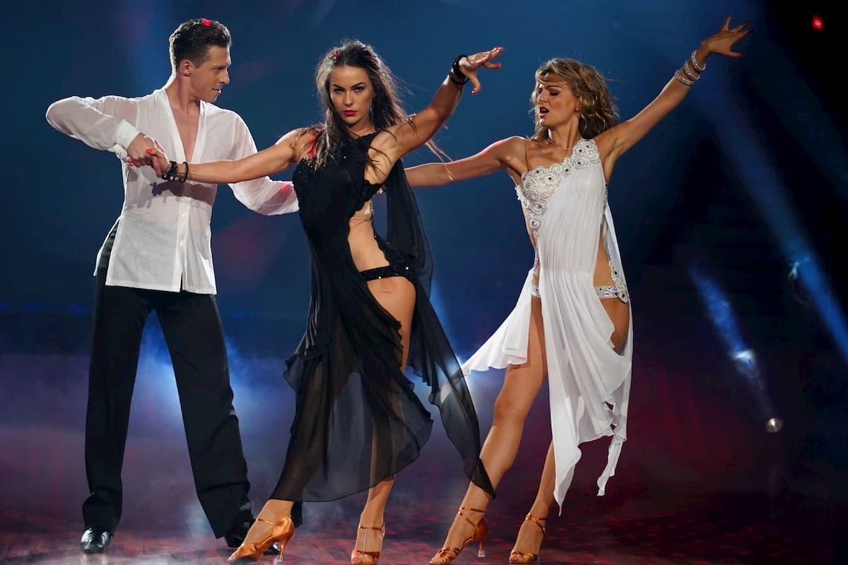 Ella Endlich, Valentin Lusin und Renata Lusin bei Let's dance am 28.5.2020, ursprünglich bei Let's dance 2019 Platz 2