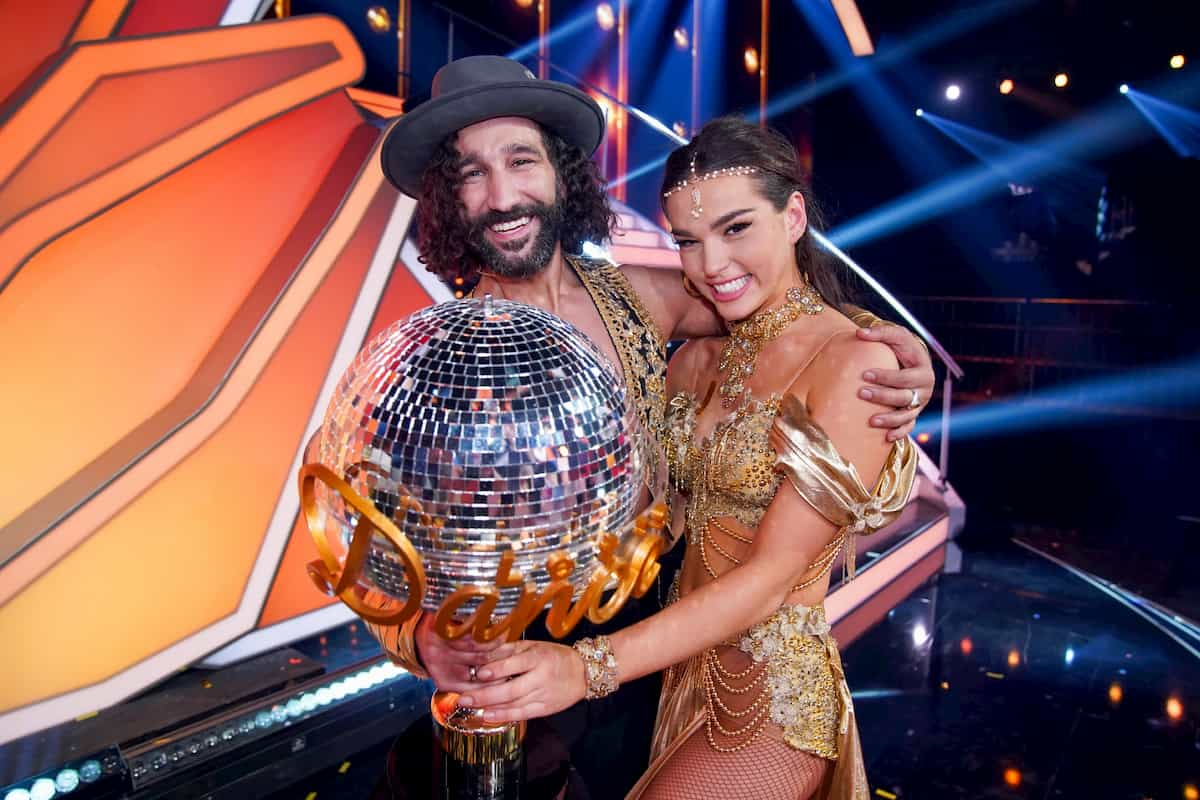 Let's dance 2020 Finale Kritik, Meinung, Kommentar - Gewinner Let's dance 2020 Lili Paul-Roncalli - Massimo Sinato