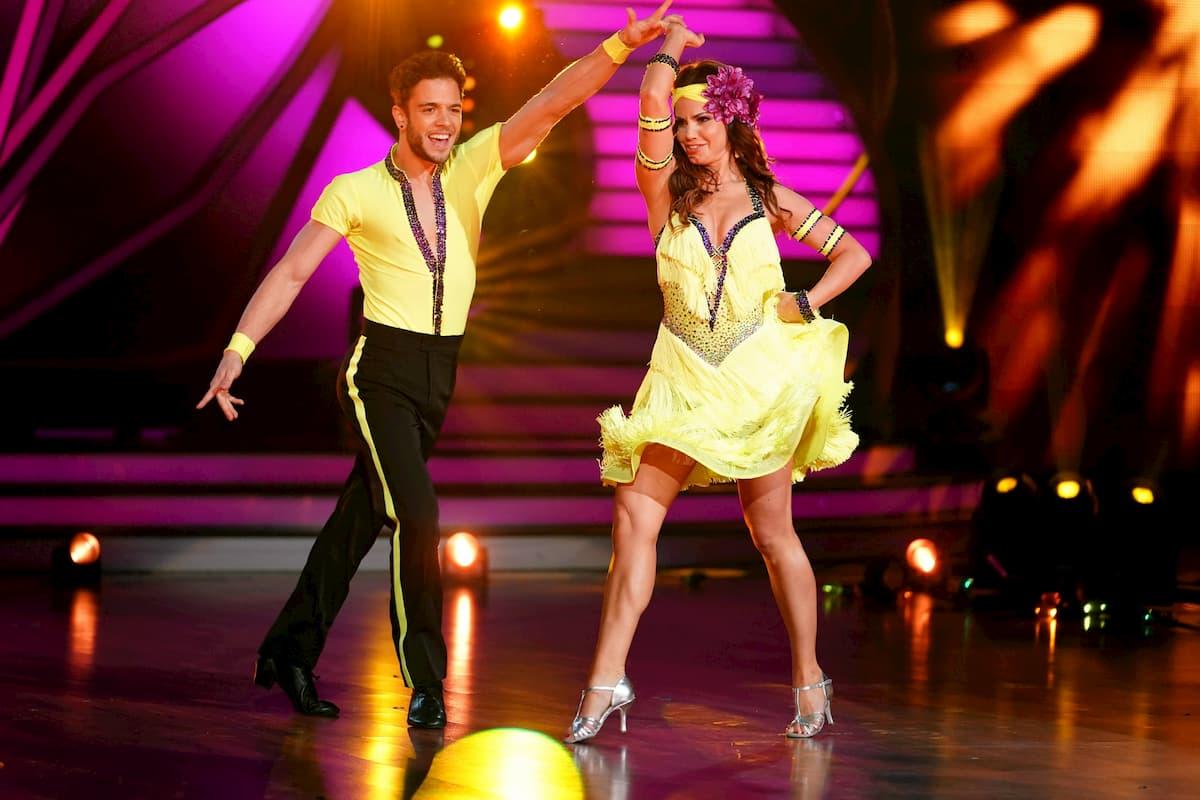 Luca Hänni - Christina Luft bei Let's dance am 8.5.2020 im Cha Cha Cha