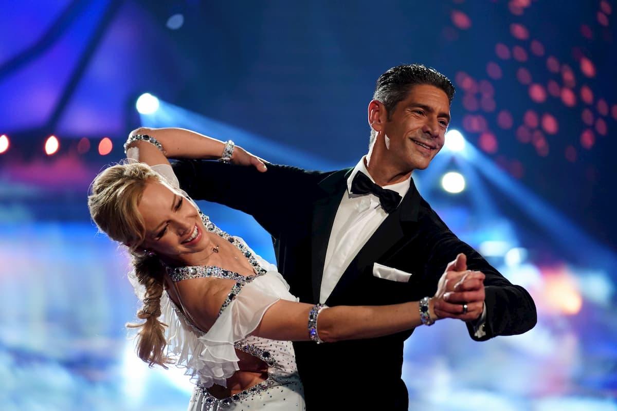 Marcus Weiss und Isabel Edvardsson bei der Let's dance Profi-Challenge am 29.5.2020