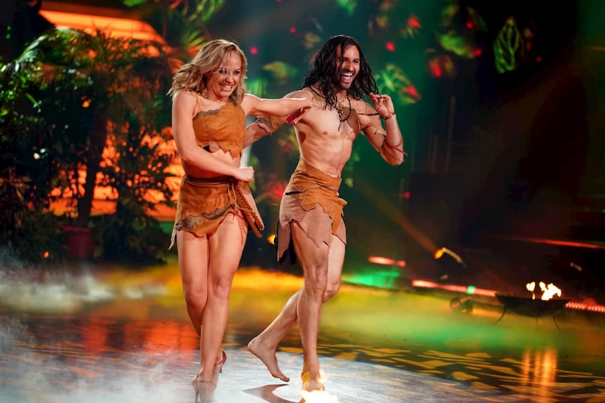 Marta Arndt und Robert Beitsch bei der Profi-Challenge Let's dance am 29.5.2020