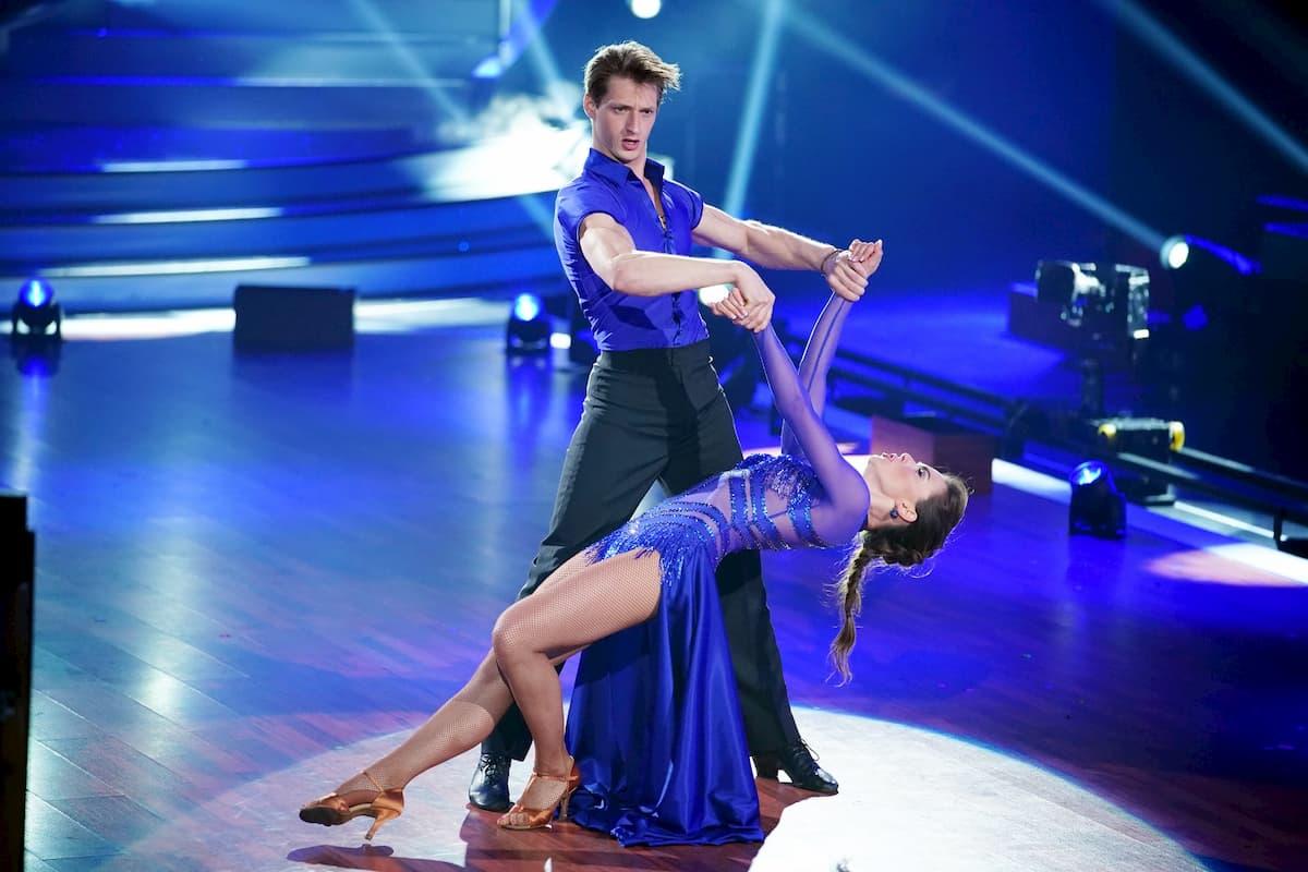Moritz Hans - Renata Lusin bei Let's dance am 1.5.2020