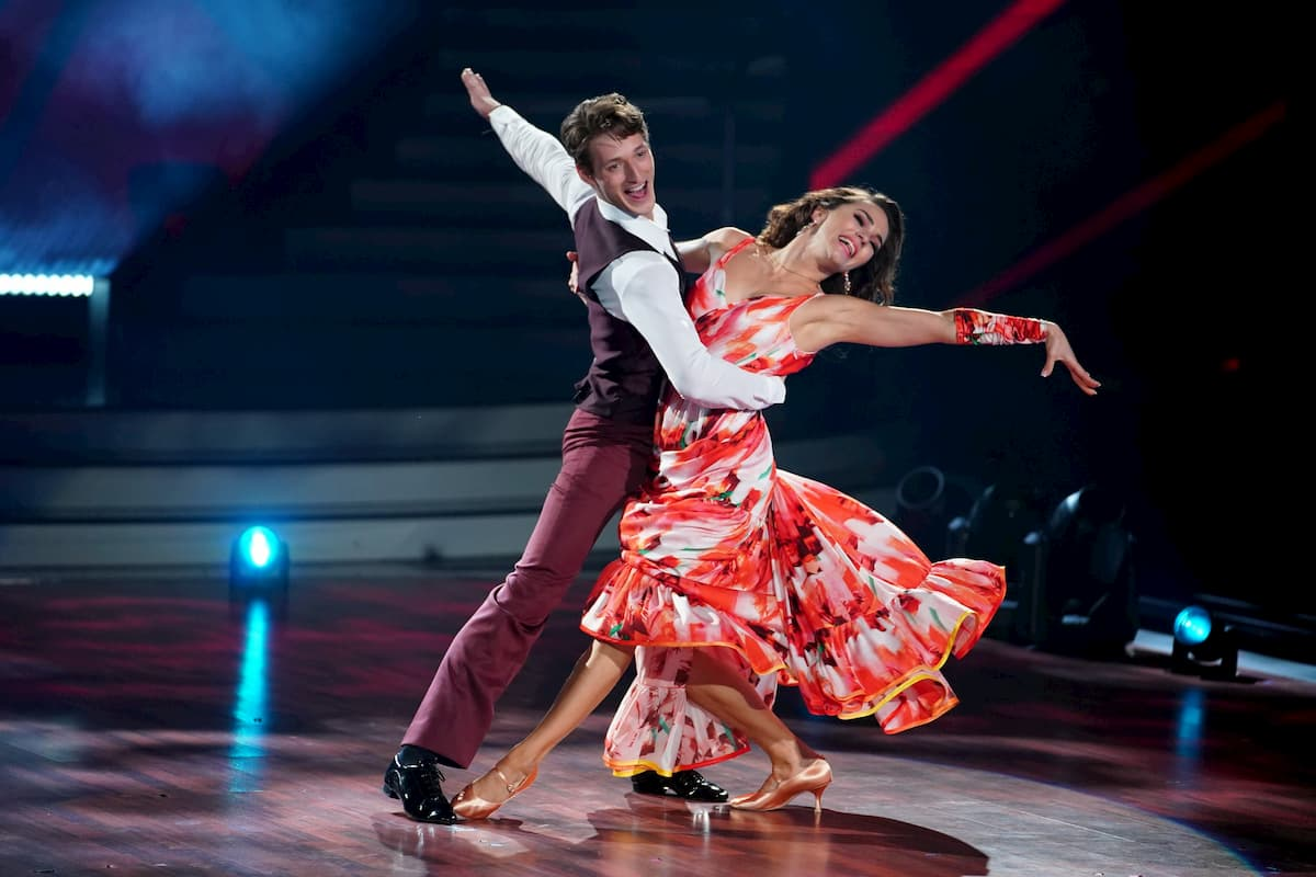 Moritz Hans - Renata Lusin bei Let's dance am 15.5.2020