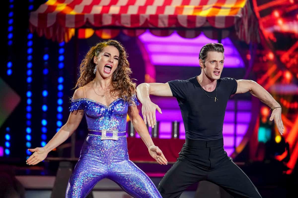 Renata Lusin - Moritz Hans beim Charleston im Finale Let's dance am 22.5.2020