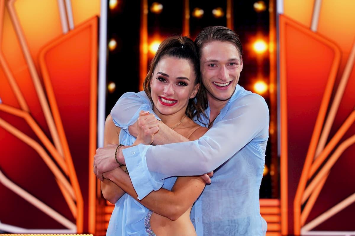 Renata Lusin und Moritz Hans - Let's dance am 15.5.2020