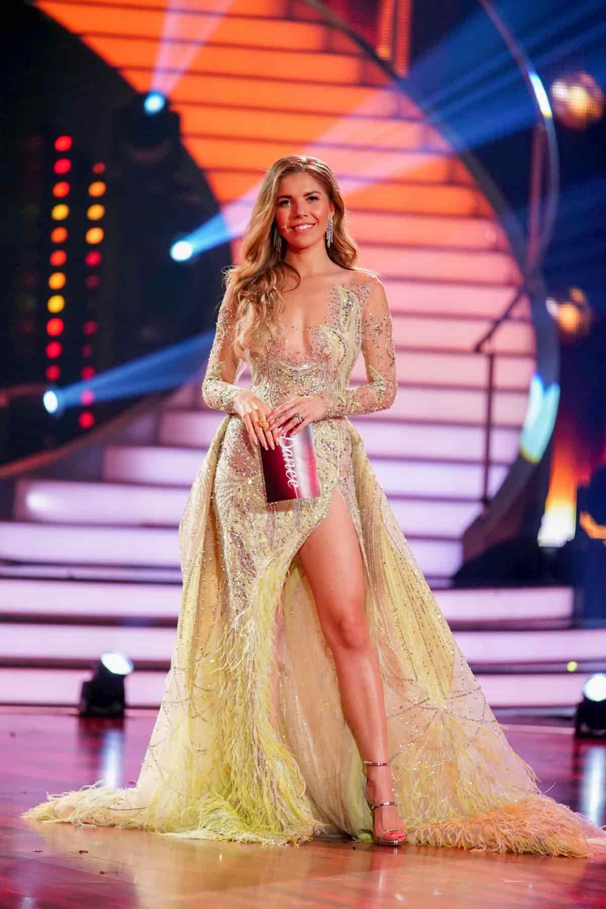 Victoria Swarovski im Finale Le's dance 2020 am 22.5.2020