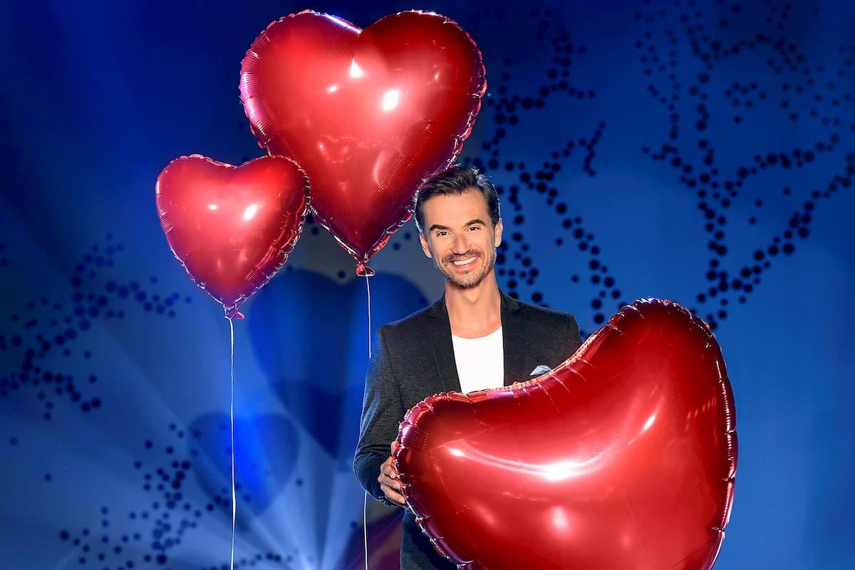 Florian Silbereisen bei der Vorbereitung zu seiner TV-Show Schlager-Love-Story 2020 - Das große Wiedersehen