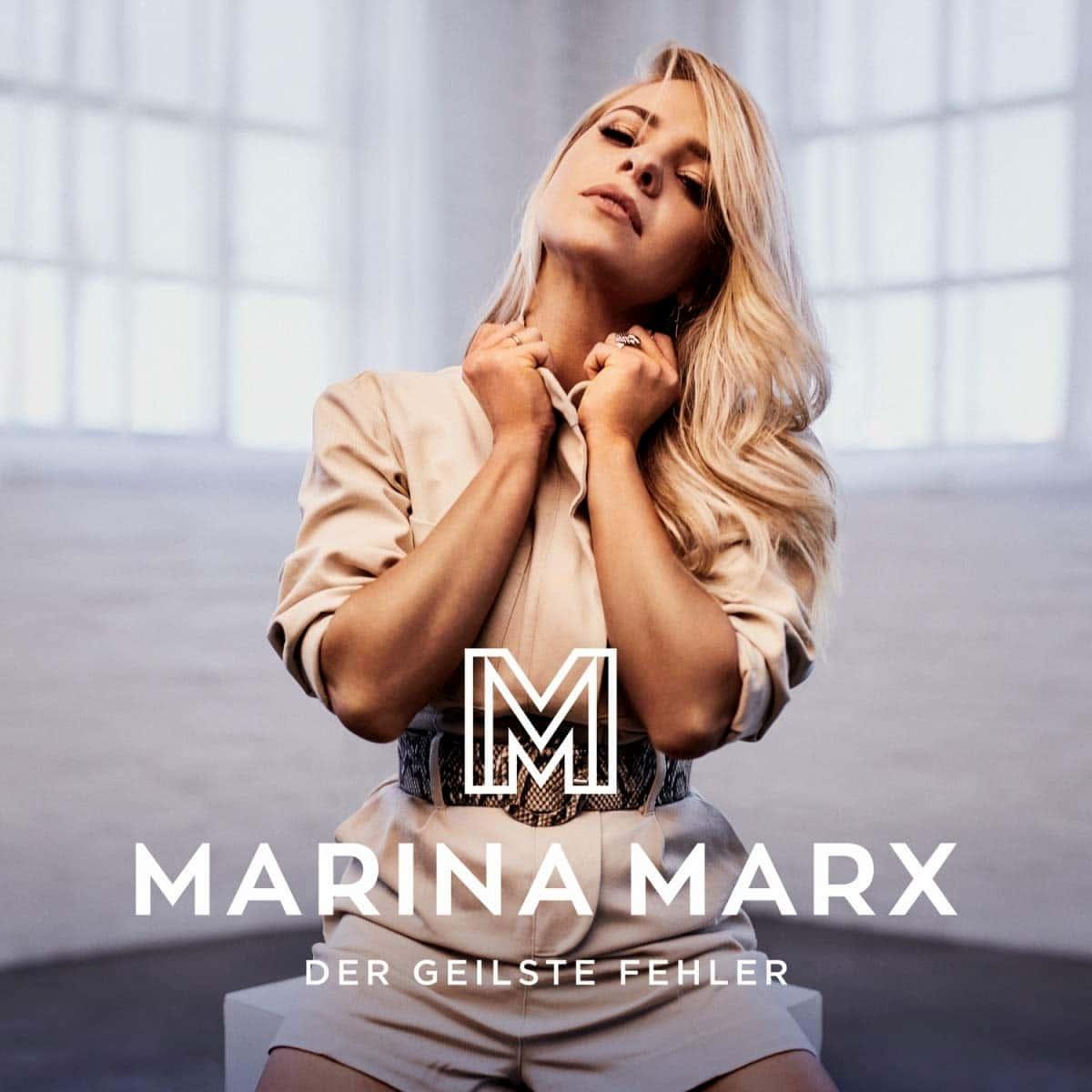 """Marina Marx - Album """"Der geislste Fehler"""" 2020"""