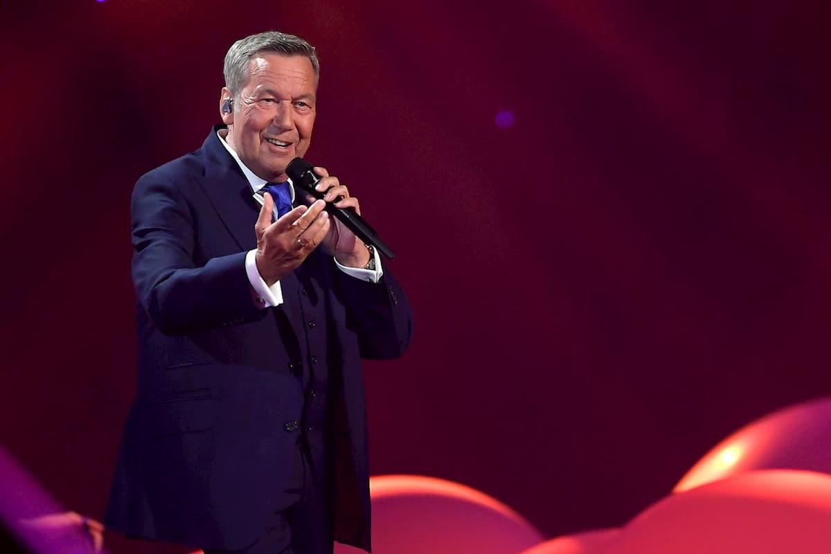 Roland Kaiser Auftritt bei der Schlager-Love-Story 2020 am 6.6.2020