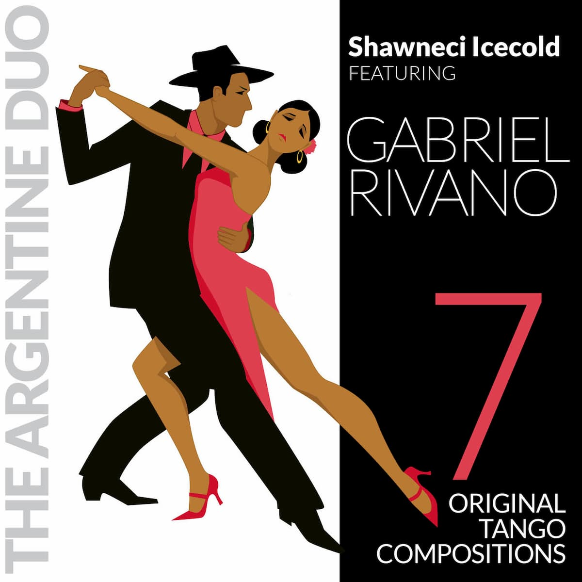 Tango-Musik-Album von Shawneci Icecold feat. Gabriel Rivano The Argentine Duo