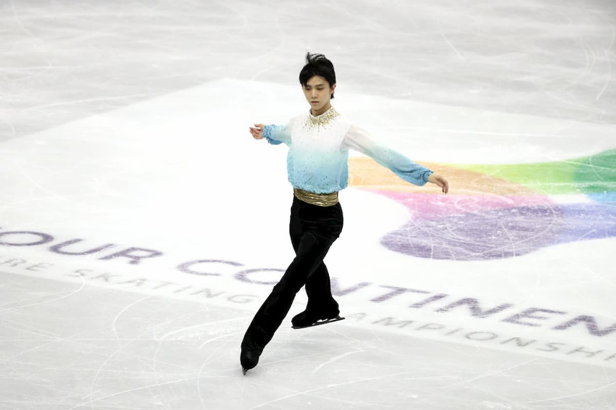 Yuzuruh Hanyu erhält den ISU Skating Award 2020 als Wertvollster Eiskunstläufer