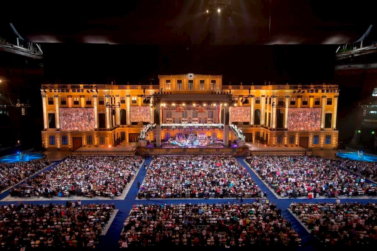 Andre Rieu Konzert - opulenter Bühnenaufbau