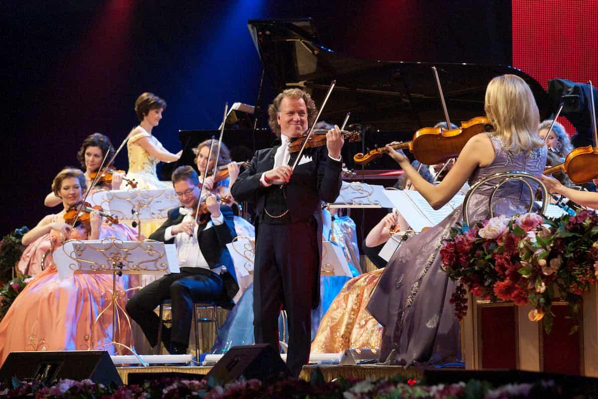 Andre Rieu mit seinem Orchester