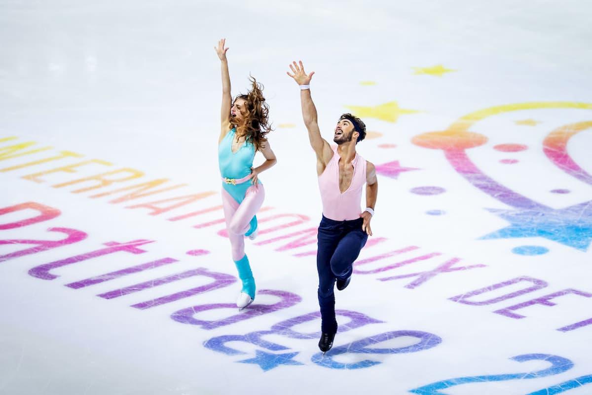 ISU Grand Prix 2020 - Wie laufen die Wettbewerbe - hier im Bild Gabriella Papadakis - Guillaume Cizeron, das Eistanz-Paar aus Frankreich
