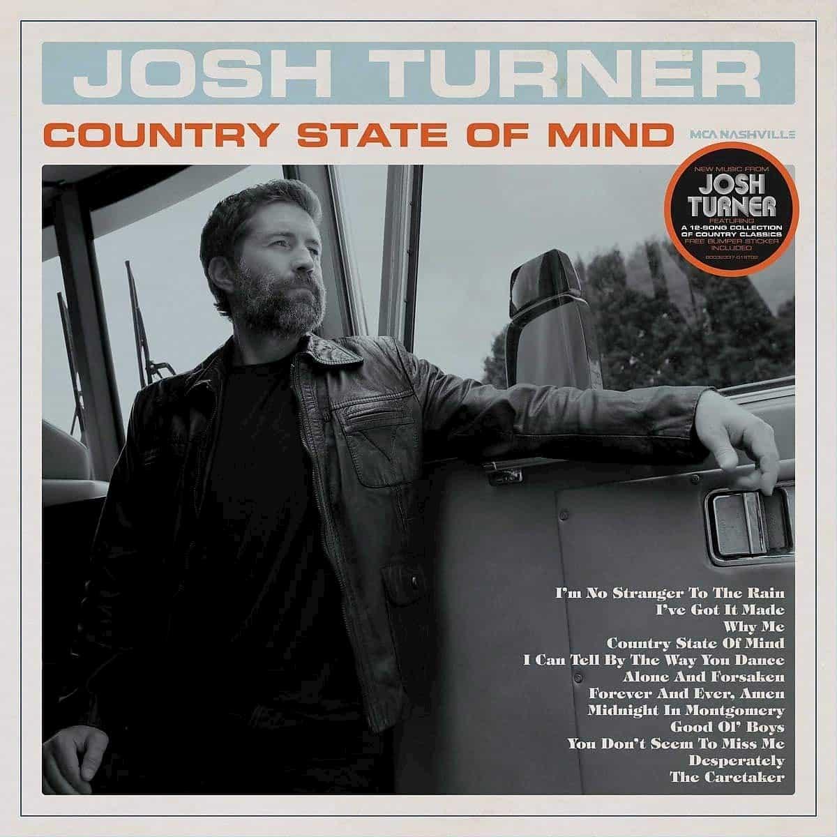"""Josh Turner veröffentlicht neue CD """"Country State of Mind"""""""