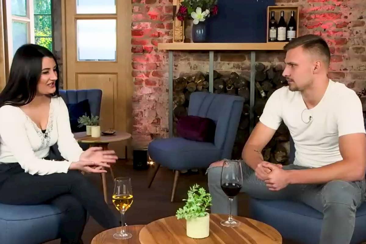 Maurice und Luzy bei Heimlich verliebt am 6.9.2020