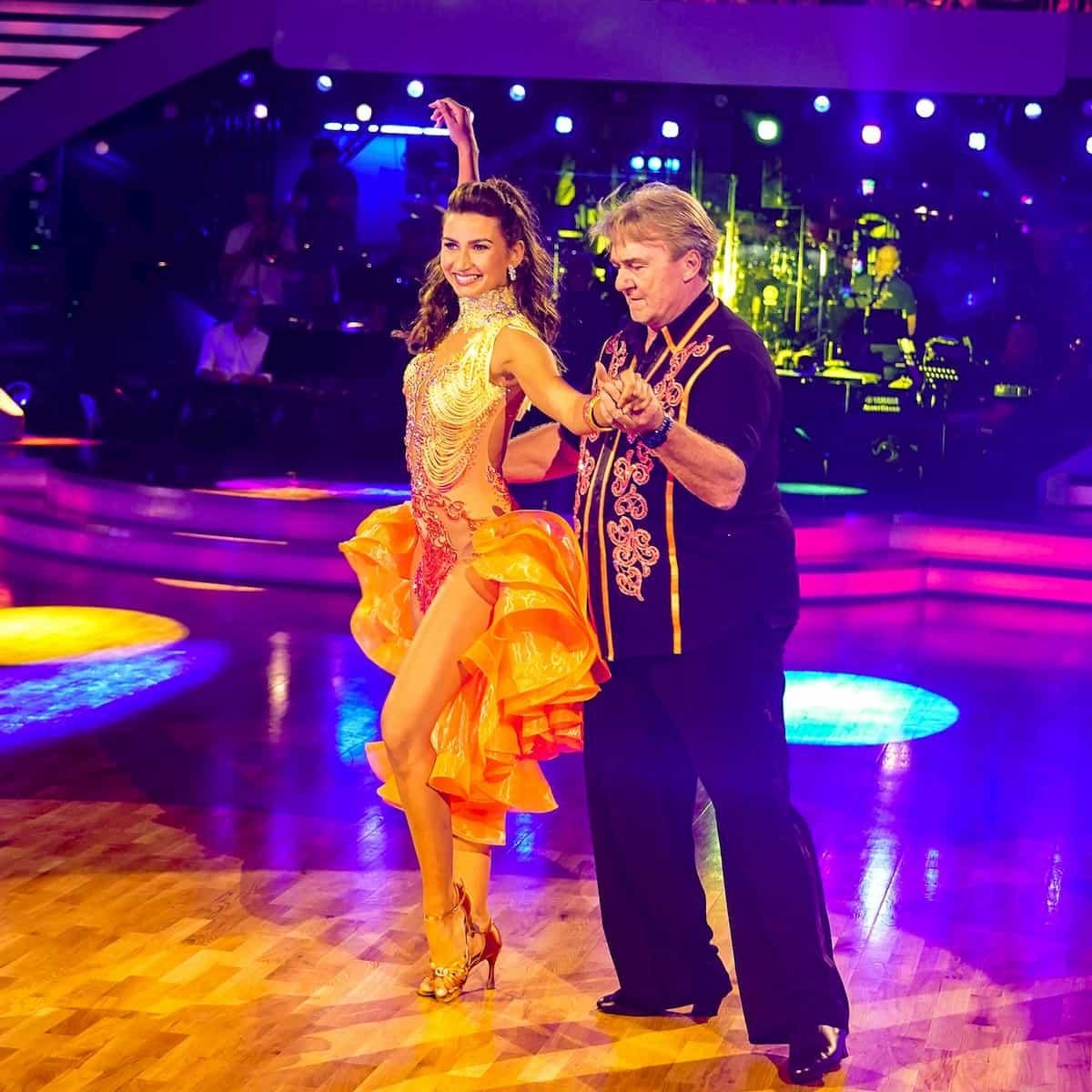 Andreas Ogris – Vesela Dimova bei den Dancing Stars am 25.9.2020