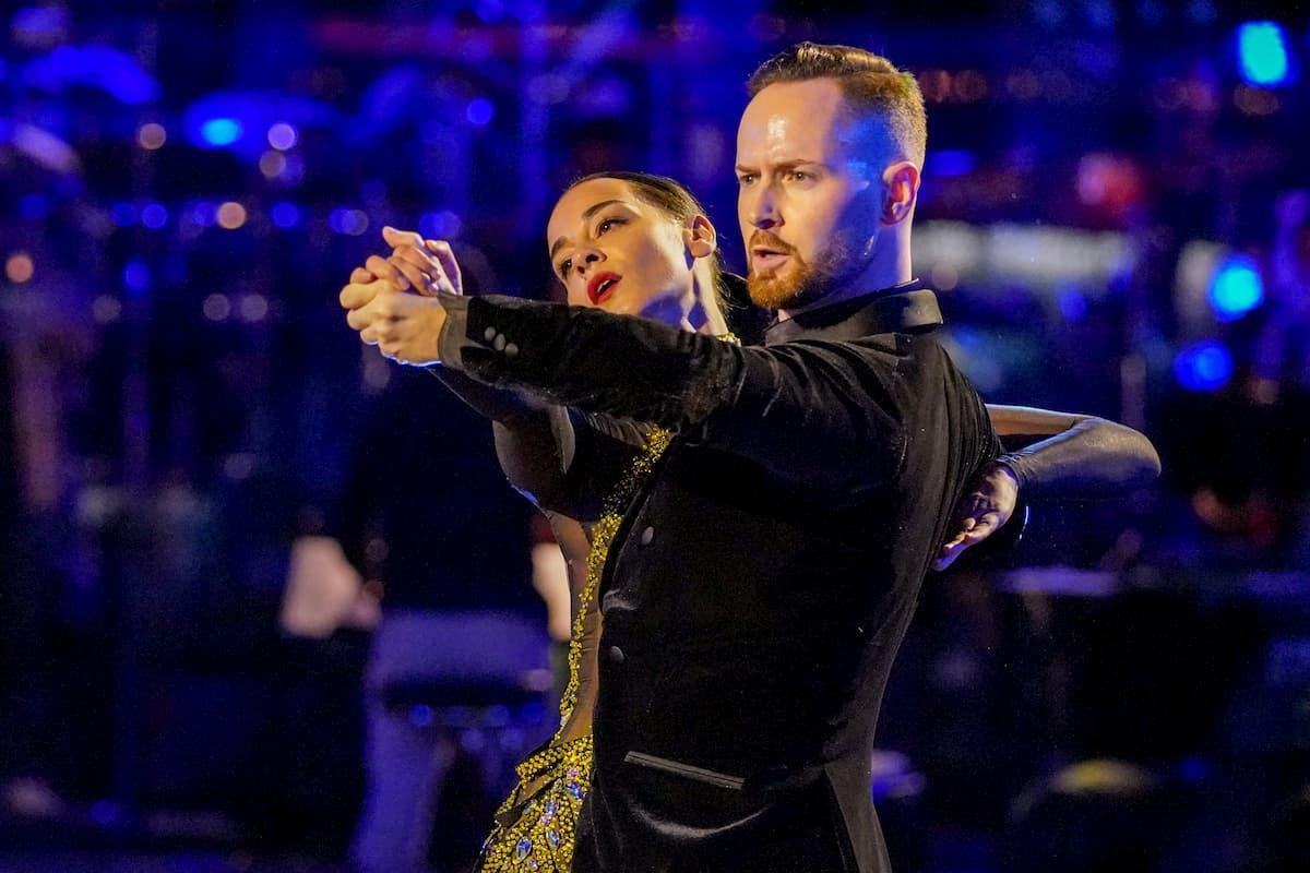 Edita Malovcic – Florian Vana bei den Dancing Stars am 25.9.2020