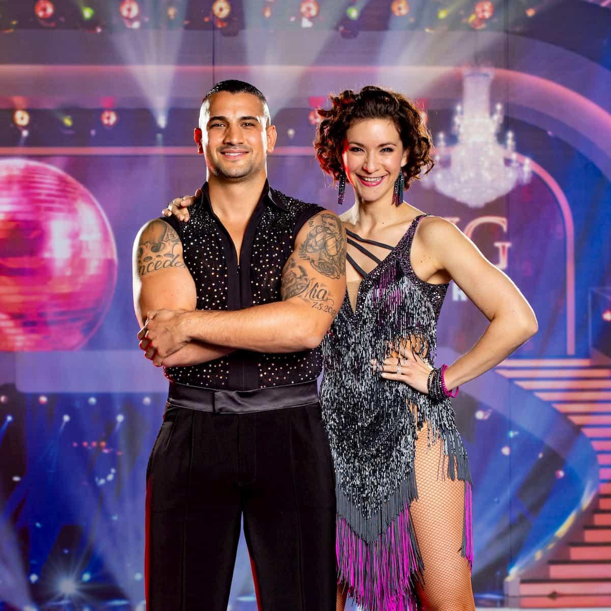 Marcos Nader und Alexandra Scheriau - Dancing Stars 25.9.2020