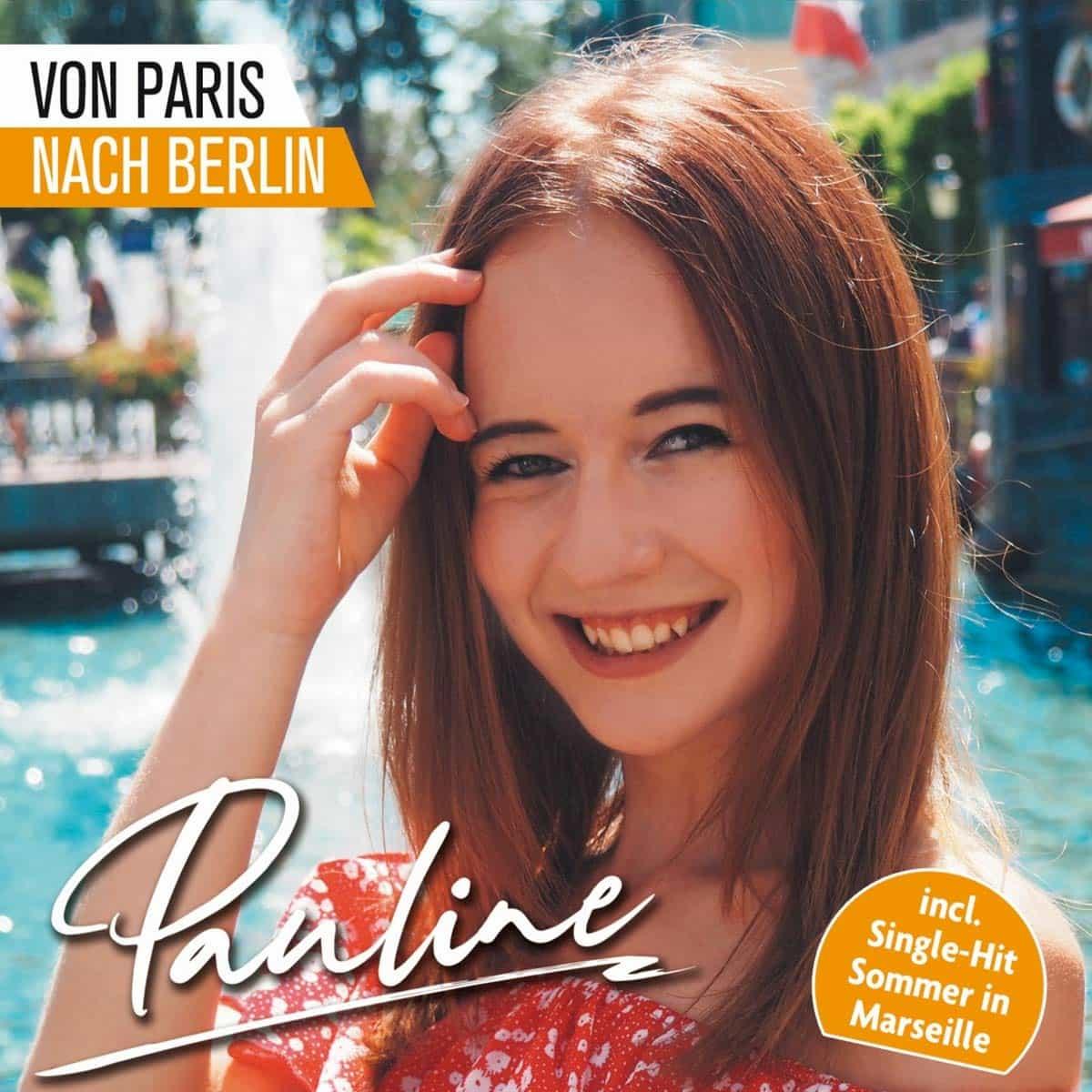 """Pauline CD """"Von Paris nach Berlin"""" 2020"""