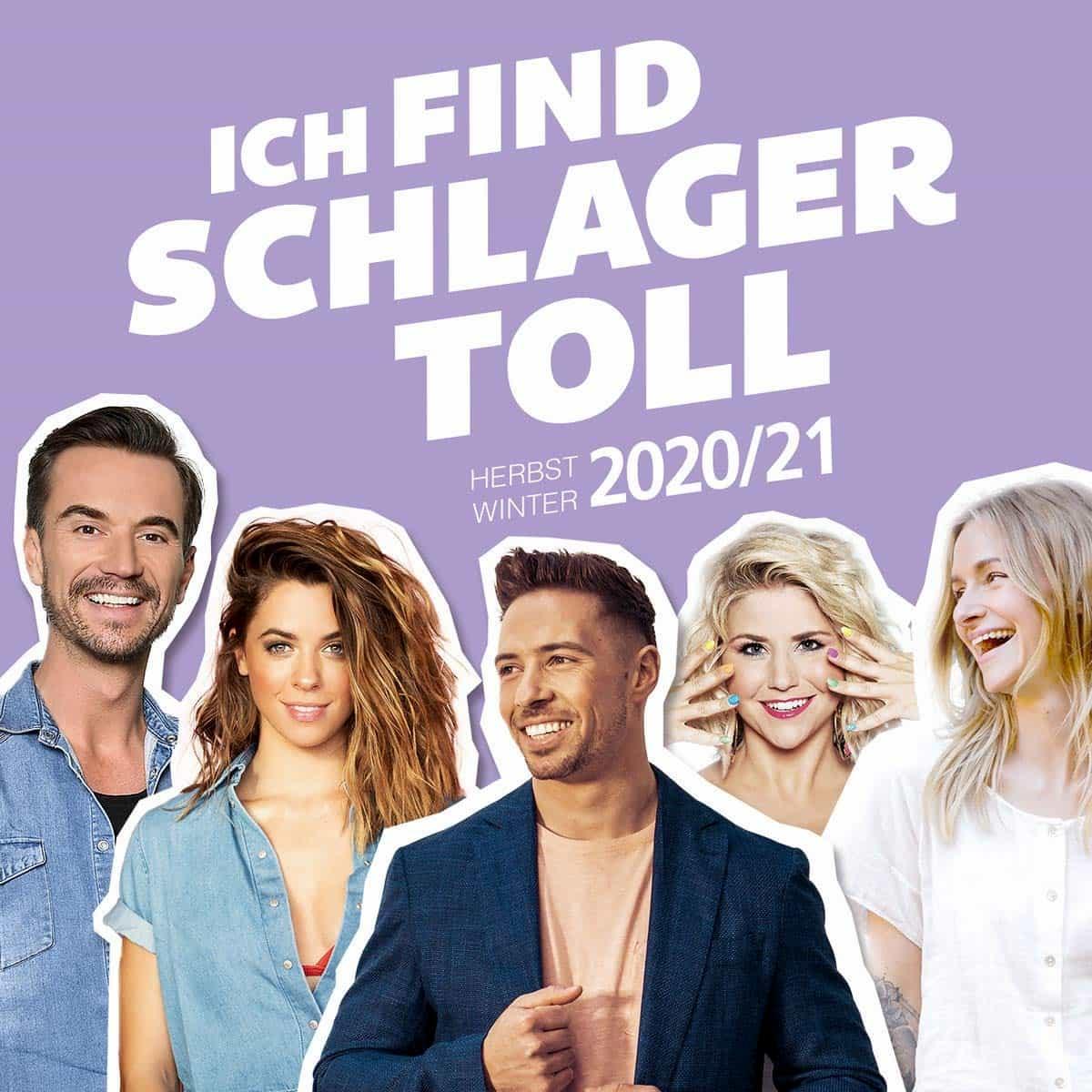 """Schlager-CD """"Ich find Schlager toll"""" Herbst-Winter 2020-2021"""