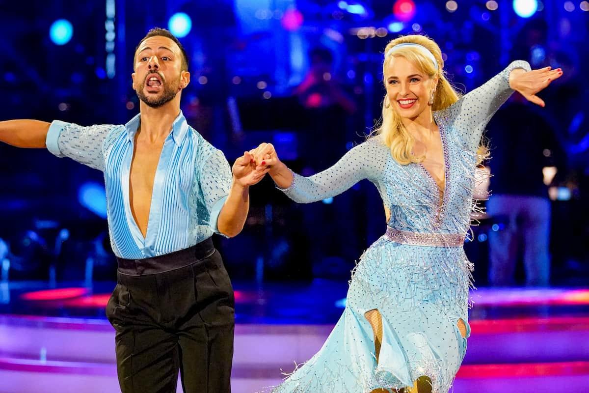 Silvia Schneider – Danilo Campisi bei den Dancing Stars am 25.9.2020