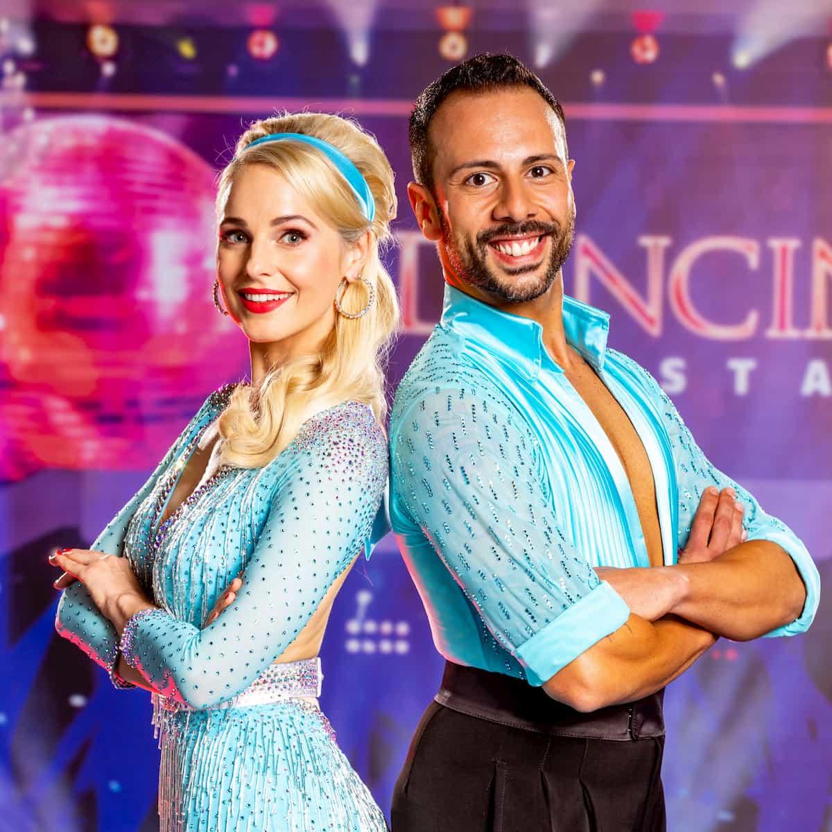 Silvia Schneider und Danilo Campisi - Dancing Stars 25.9.2020