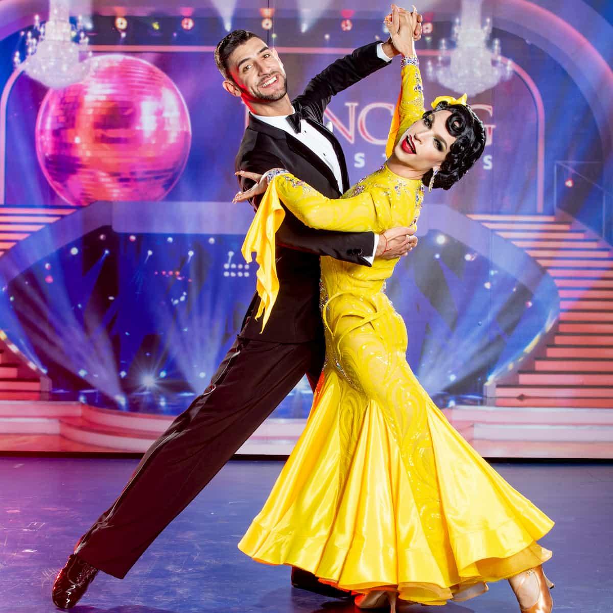 Tamara Mascara und Dimitar Stefanin - Dancing Stars 25.9.2020
