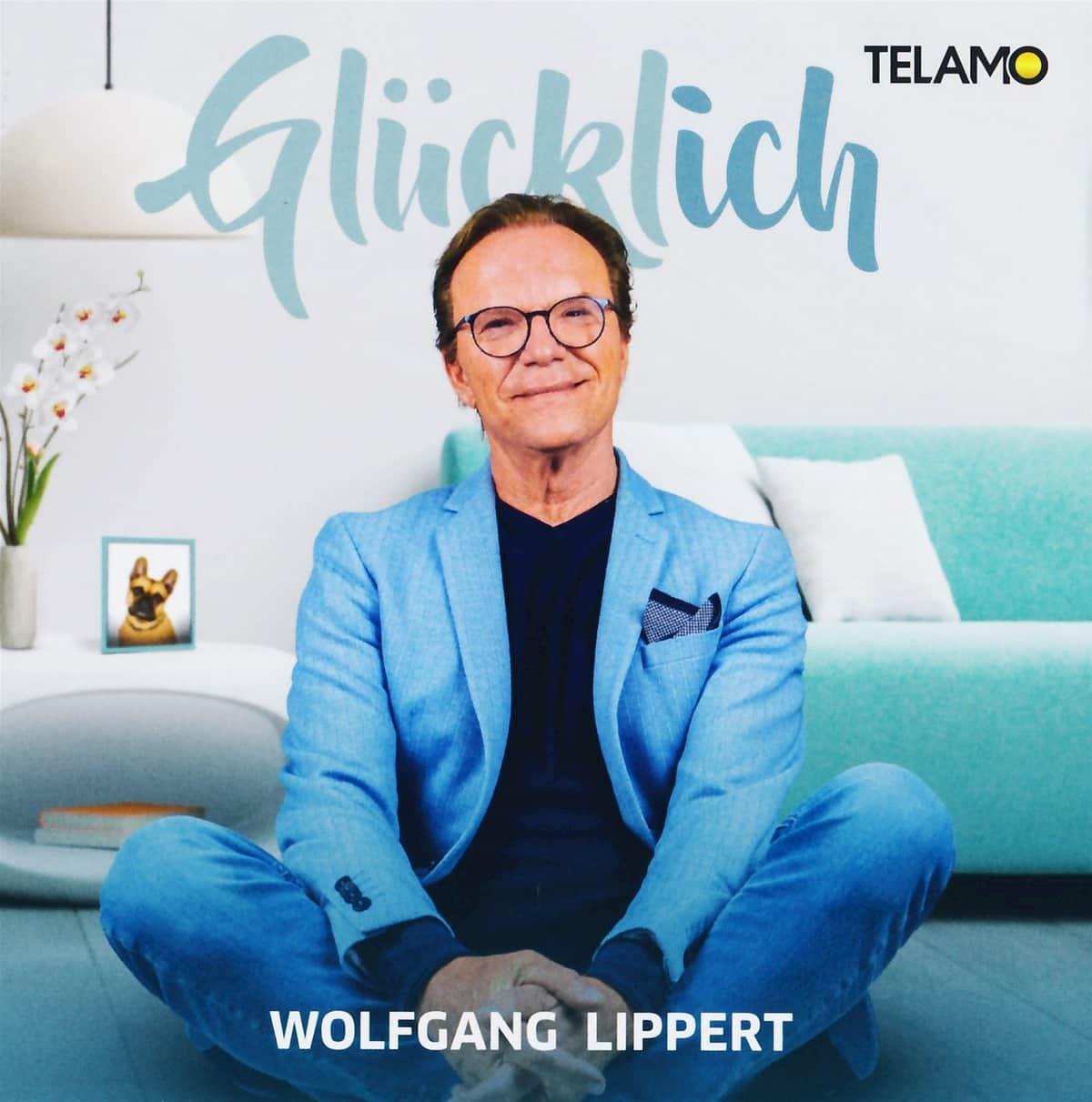 """Wolfgang Lippert - Macht seine neue CD """"Glücklich"""""""