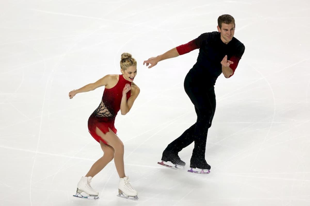Alexa Scimeca-Knierim - Brandon - Frazier - neues Eiskunstlauf-Paar seit 2020