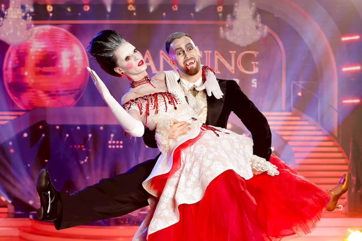 Ausgeschieden bei den Dancing Stars am 30.10.2020 Edita Malovcic - Florian Vana