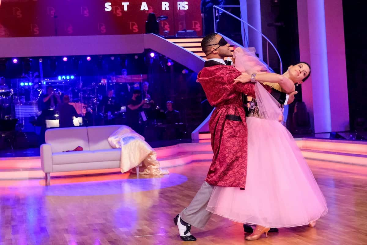 Dancing Stars am 16.10.2020 Cesar Sampson und Conny Kreuter