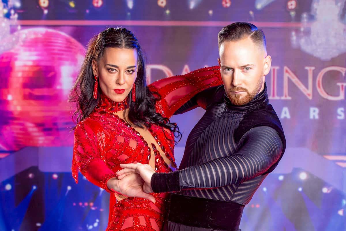 Dancing Stars am 16.10.2020 Edita Malovcic und Florian Vana