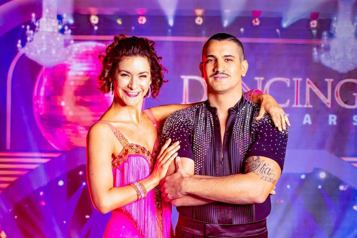 Dancing Stars am 16.10.2020 Marcos Nader und Alexandra Scheriau