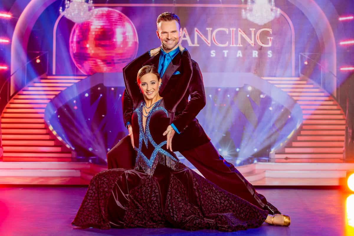 Dancing Stars am 16.10.2020 Michaela Kirchgasser und Vadim Garbuzov