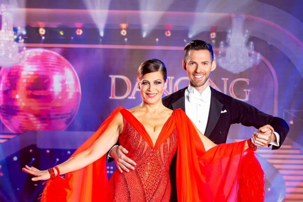 Dancing Stars am 16.10.2020 Natalia Ushakova und Stefan Herzog