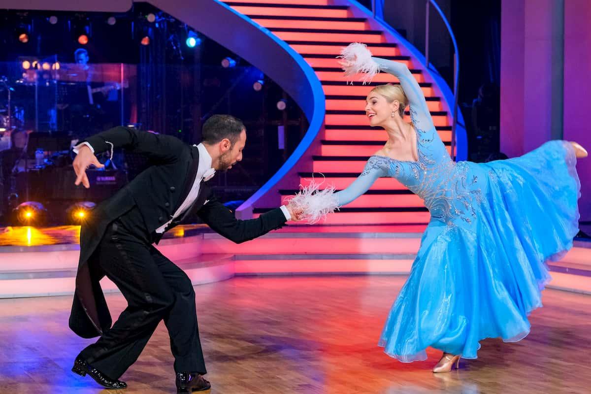 Dancing Stars am 16.10.2020 Silvia Schneider und Danilo Campisi