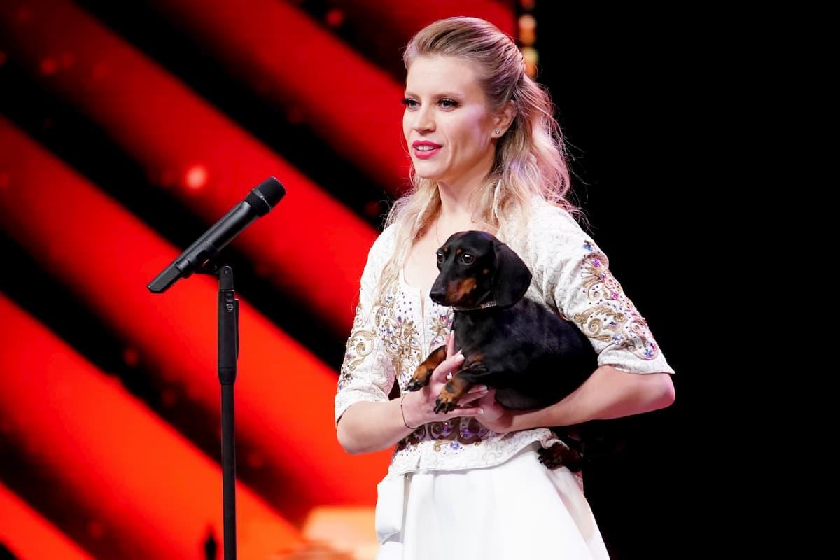 Diana Vediashkina beim Supertalent am 24.10.2020