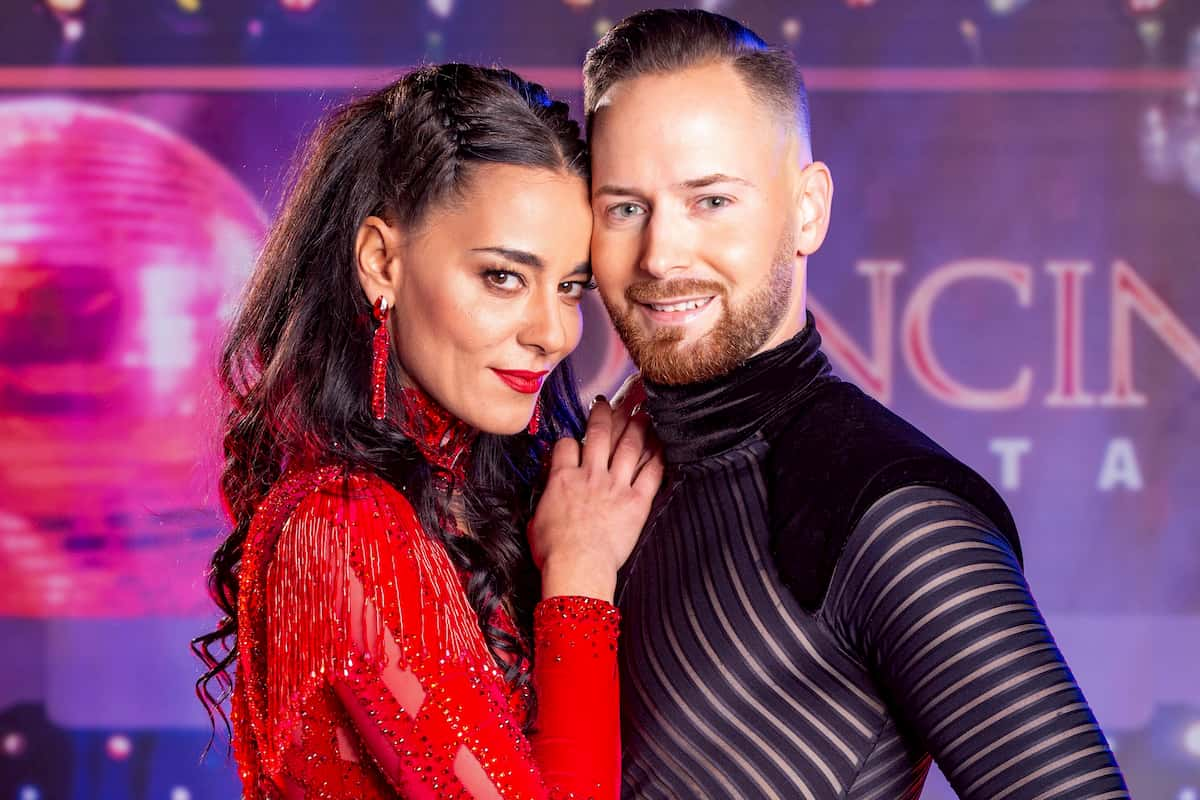 Edita Malovcic - Florian Vana bei den Dancing Stars am 16.10.2020