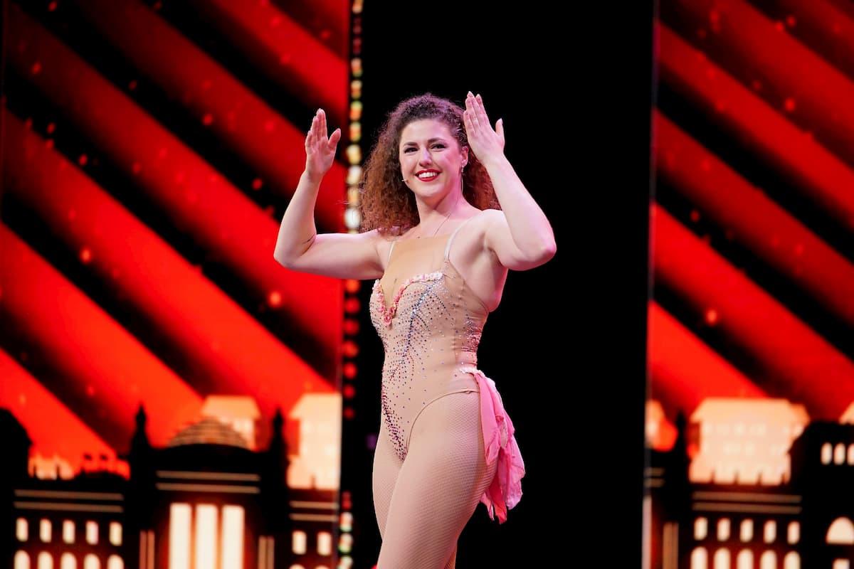 Elli Huber beim Supertalent am 24.10.2020