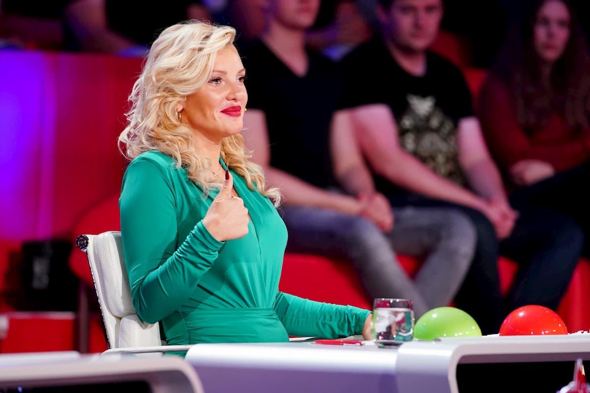 Evelyn Burdecki neu in der Jury Supertalent 2020