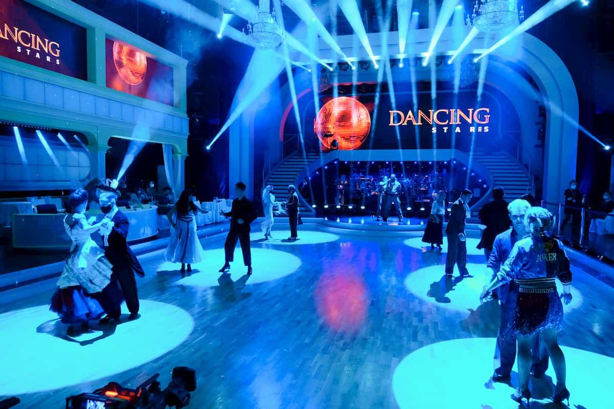Foto vom Tanz-Marathon im Halloween-Special Dancing Stars 30.10.2020