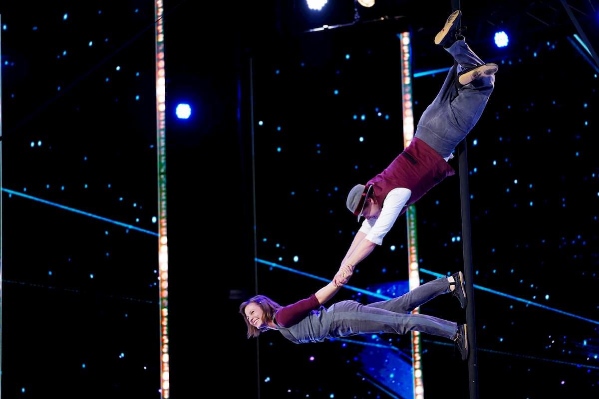 Kira und Anders beim Supertalent am 31.10.2020