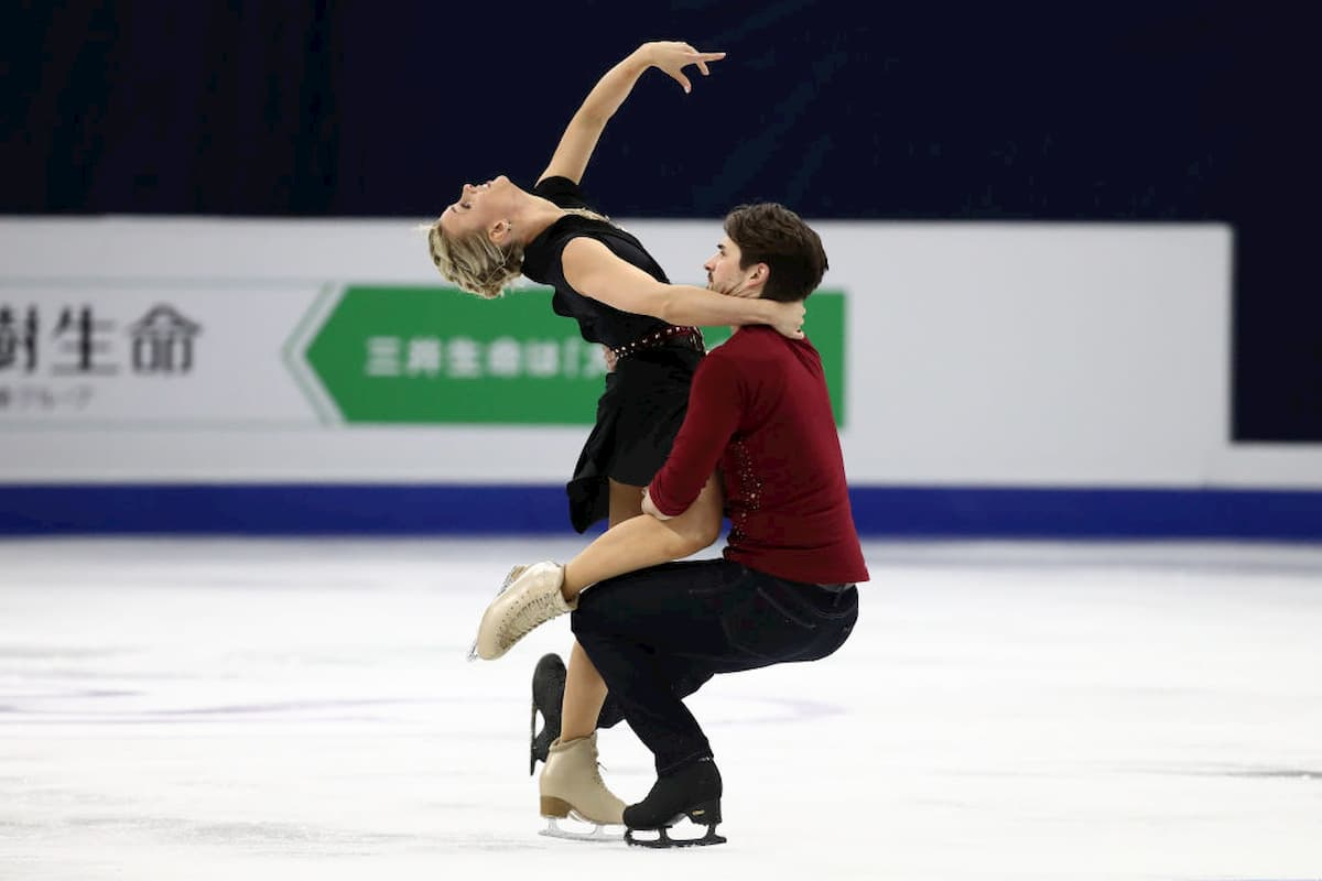 Madison Hubbell - Zachary Donohue sind bei Skate America 2020 am Start