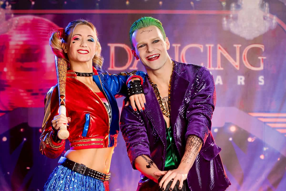 Michaela Kirchgasser - Vadim Garbuzov bei den Dancing Stars am 30.10.2020