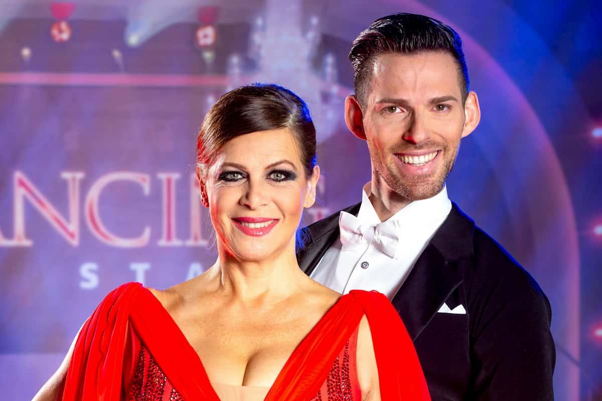 Natalia Ushakova - Stefan Herzog bei den Dancing Stars am 16.10.2020