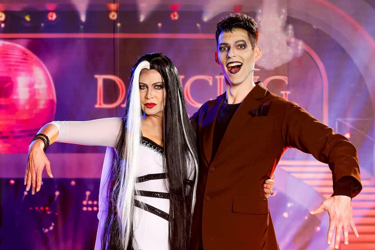 Natalia Ushakova - Stefan Herzog bei den Dancing Stars am 30.10.2020