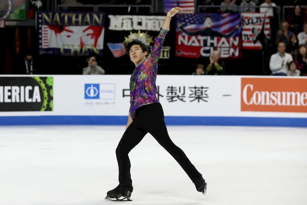 Nathan Chen Favorit bei den Herren bei Skate America 2020