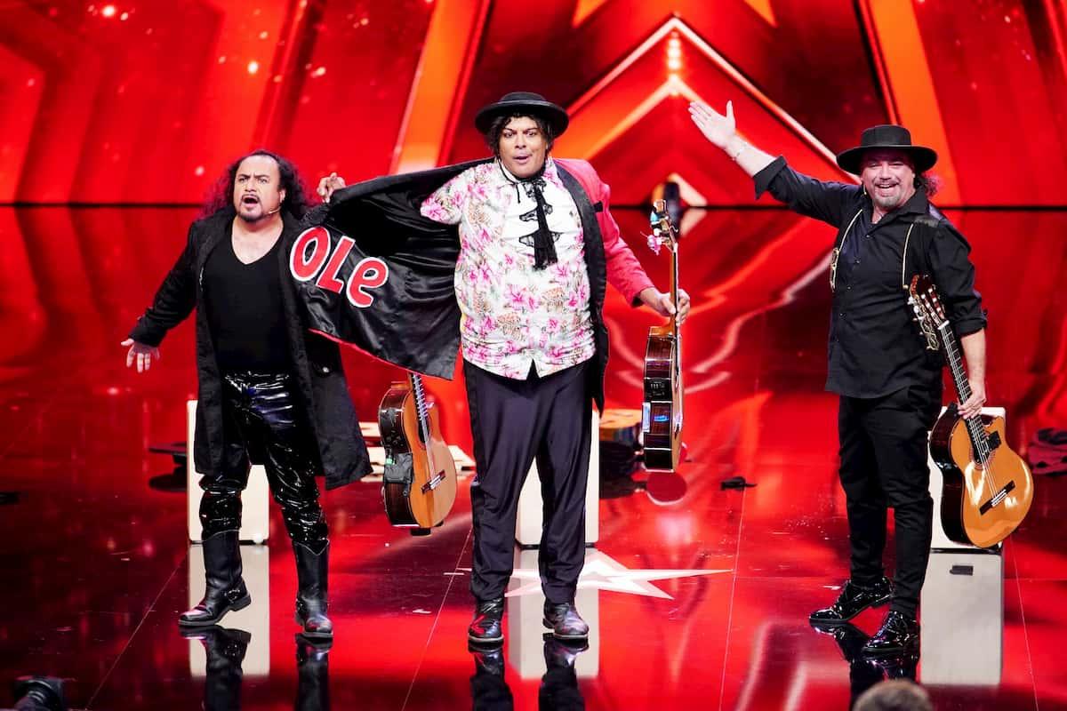 Paul Morocco und Ole beim Supertalent am 31.10.2020